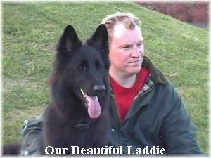 Laddie and his Dad
